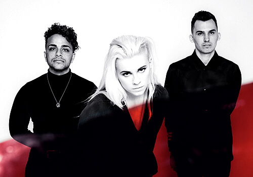 PVRIS Music band radioactive promotions