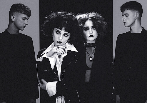 pale waves music band radioactive promotions